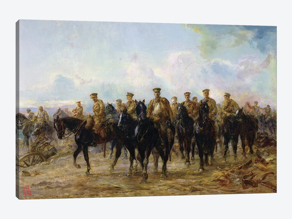 The Retreat From Mons, 1927 by Lady Butler 1-piece Canvas Art
