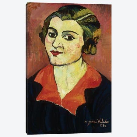 Autoportrait, 1934 3-Piece Canvas #BMN7994} by Marie Clementine Valadon Canvas Print