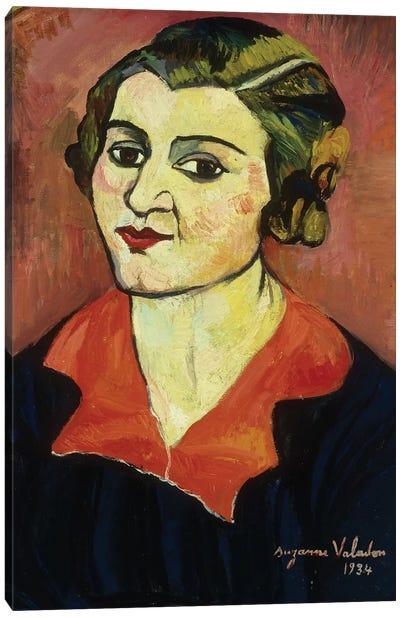 Autoportrait, 1934 Canvas Art Print