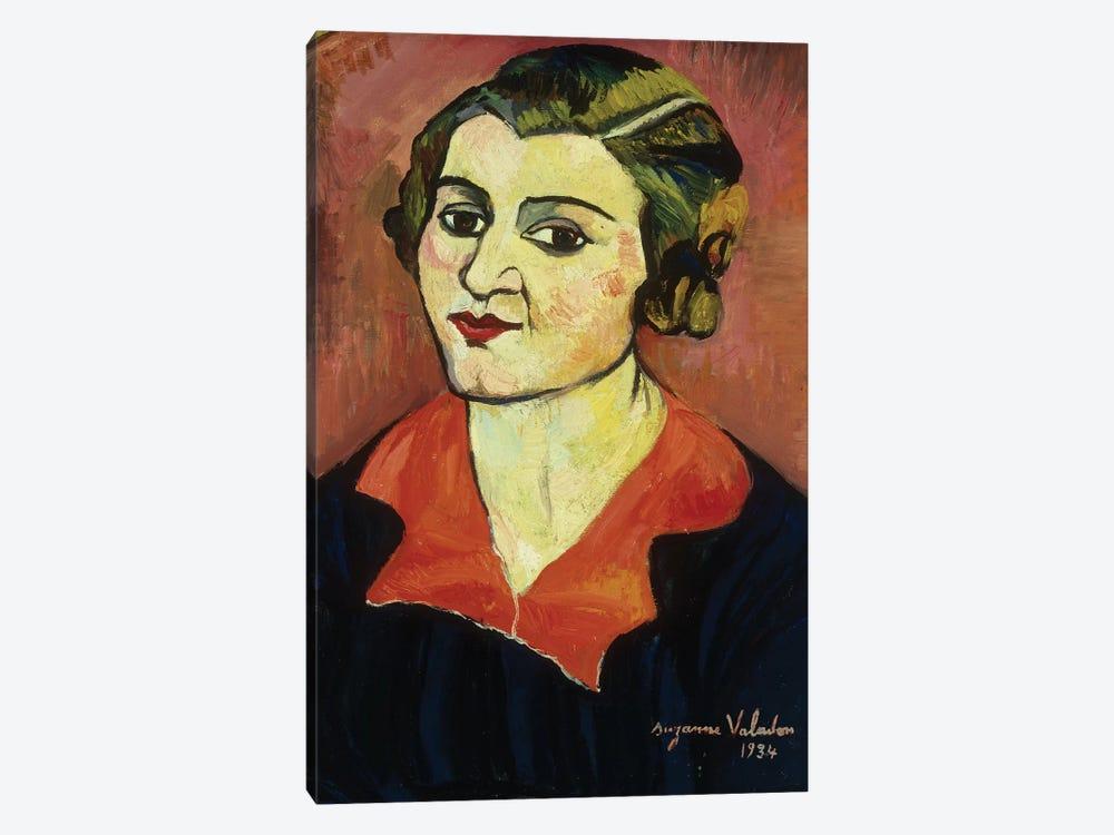 Autoportrait, 1934 by Marie Clementine Valadon 1-piece Canvas Artwork