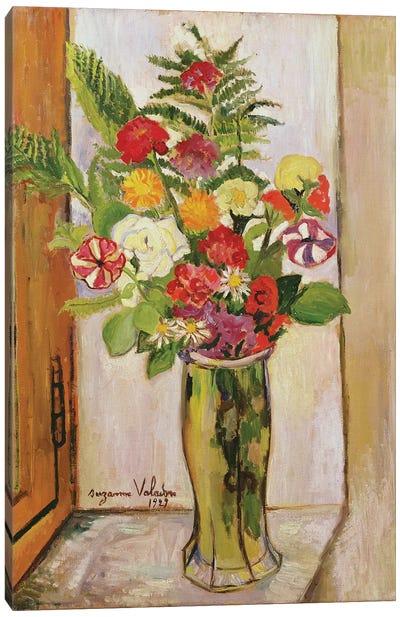 Flowers, 1929 Canvas Art Print