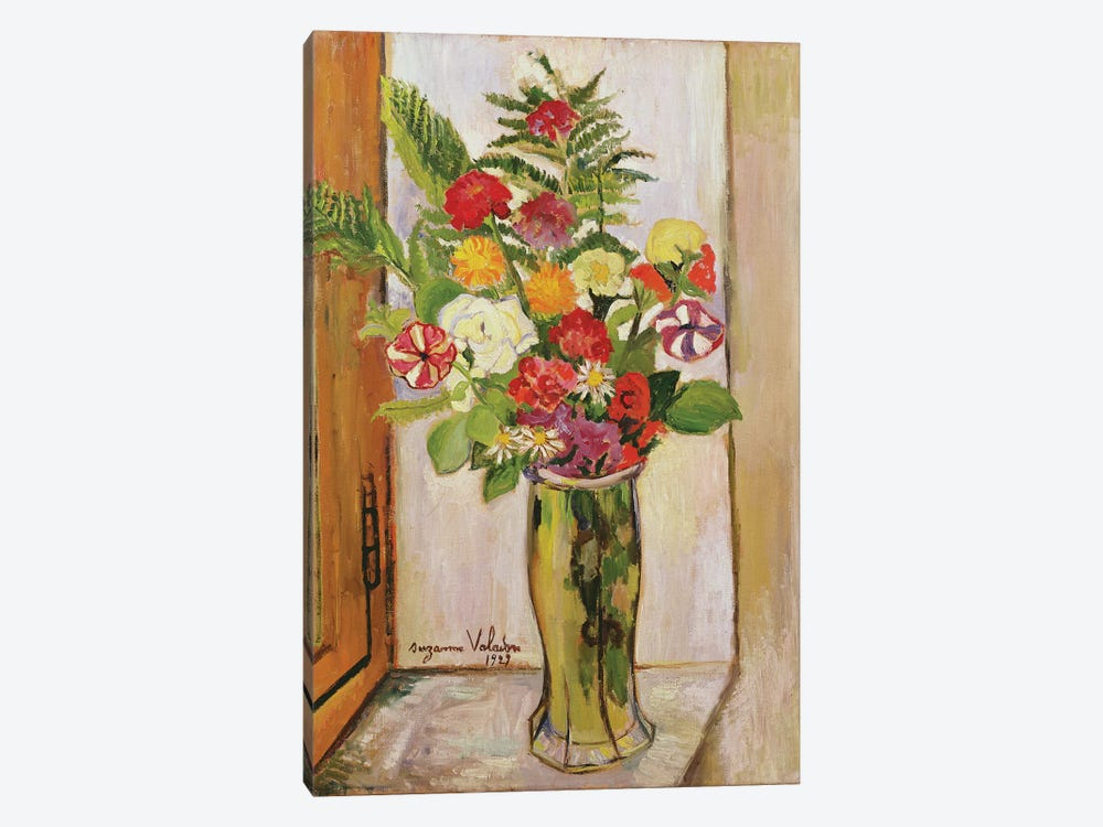 Flowers, 1929 by Marie Clementine Valadon 1-piece Canvas Wall Art