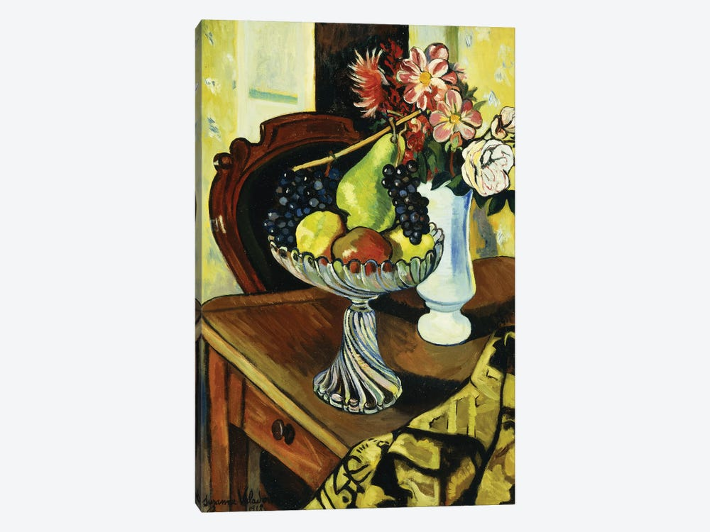 Nature Morte Au Compotier, 1918 by Marie Clementine Valadon 1-piece Canvas Art