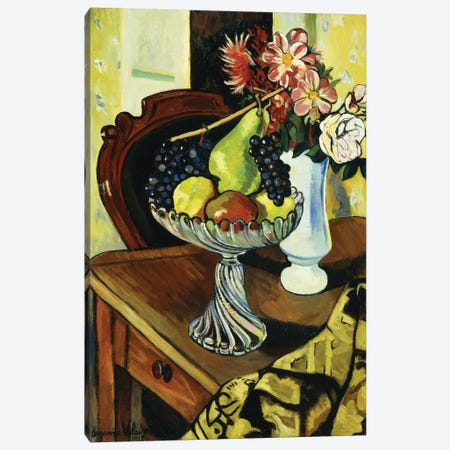 Nature Morte Au Compotier, 1918 Canvas Print #BMN8002} by Marie Clementine Valadon Canvas Art