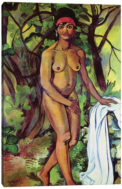 Nude Negress, 1919 Canvas Art Print