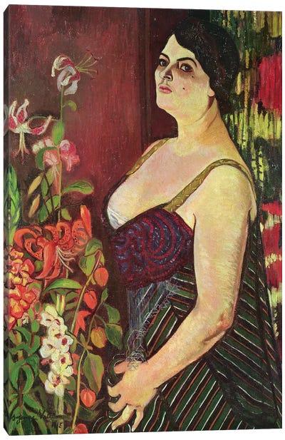 Portrait Of Madame Coquiot, 1918 Canvas Art Print