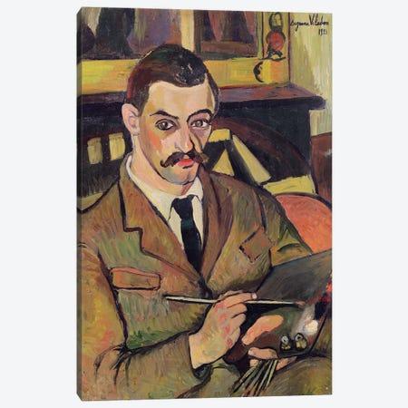 Portrait Of Maurice Utrillo (1883-1955) 1921 3-Piece Canvas #BMN8013} by Marie Clementine Valadon Art Print