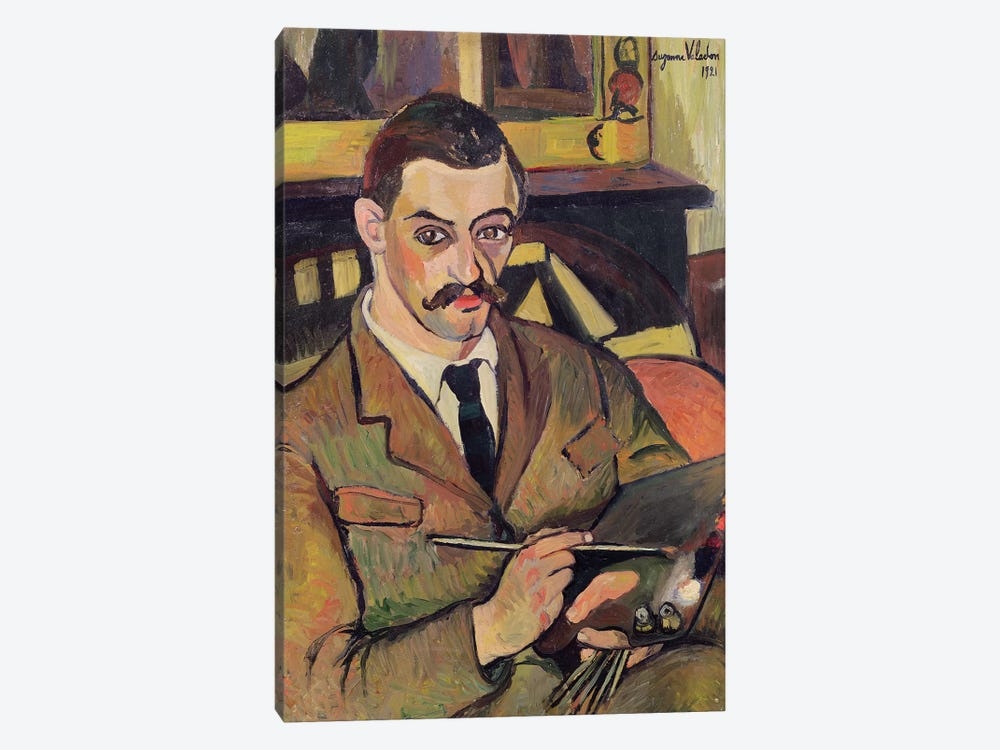 Portrait Of Maurice Utrillo (1883-1955) 1921 by Marie Clementine Valadon 1-piece Canvas Art