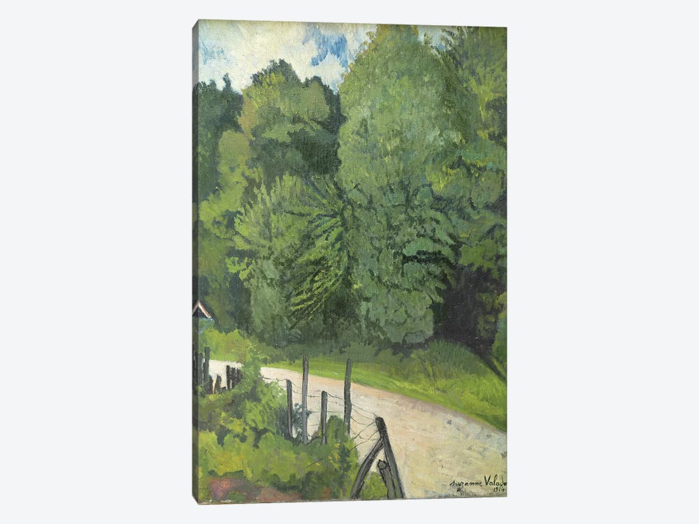 Road In The Forest, 1914 by Marie Clementine Valadon 1-piece Canvas Art Print