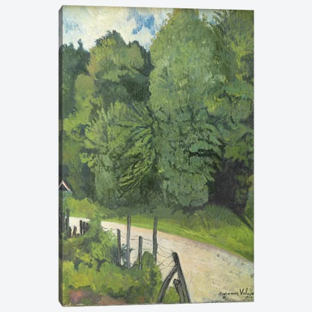 Road In The Forest, 1914 3-Piece Canvas #BMN8016} by Marie Clementine Valadon Canvas Artwork