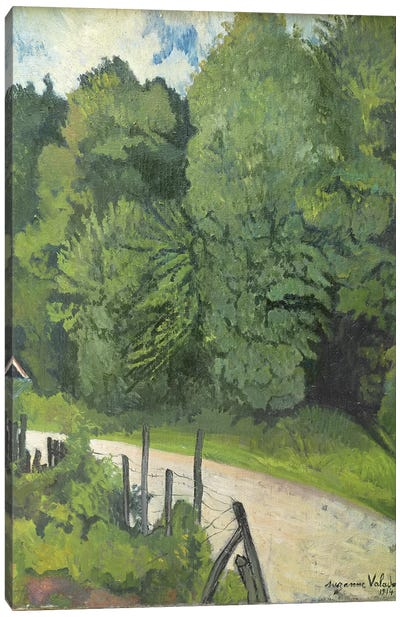 Road In The Forest, 1914 Canvas Art Print