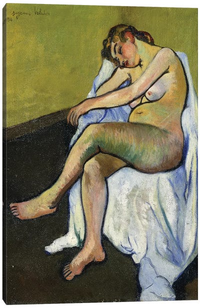 Seated Nude (Nu Assis), 1916 Canvas Art Print