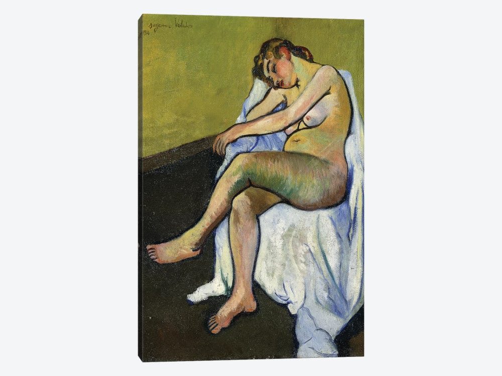 Seated Nude (Nu Assis), 1916 by Marie Clementine Valadon 1-piece Art Print