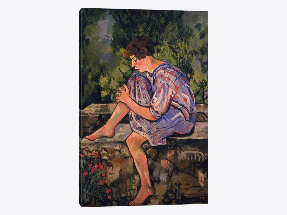 Seated Young Woman, 1930 by Marie Clementine Valadon 1-piece Canvas Artwork