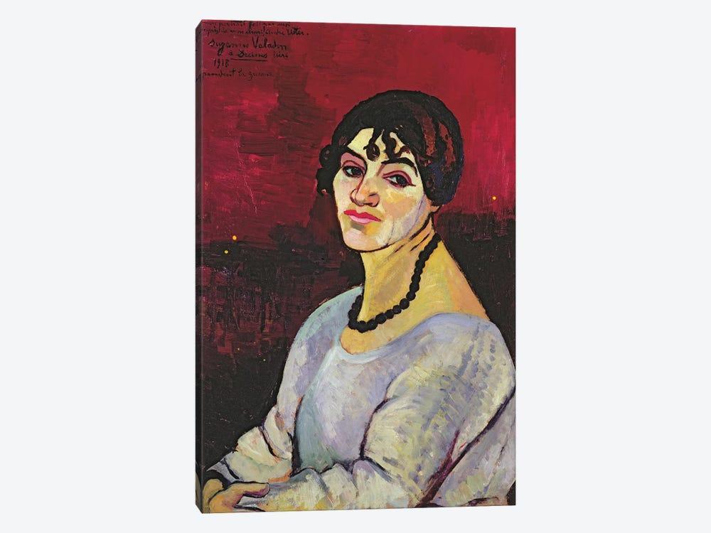 Self Portrait, 1918 by Marie Clementine Valadon 1-piece Canvas Art