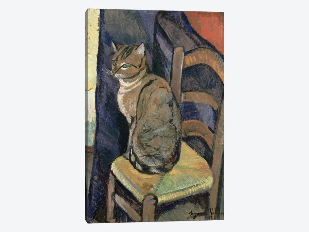 Study Of A Cat, 1918 by Marie Clementine Valadon 1-piece Canvas Artwork