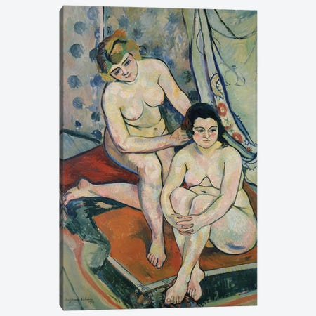The Two Bathers, 1923 Canvas Print #BMN8026} by Marie Clementine Valadon Canvas Art Print
