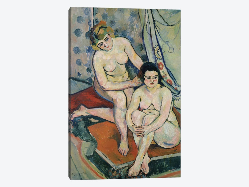 The Two Bathers, 1923 by Marie Clementine Valadon 1-piece Canvas Artwork
