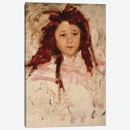 Agnes, 1910 Canvas Print #BMN8035} by Mary Stevenson Cassatt Canvas Art