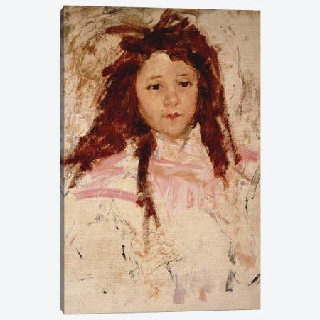 Agnes, 1910 Canvas Print #BMN8035} by Mary Stevenson Cassatt Canvas Art