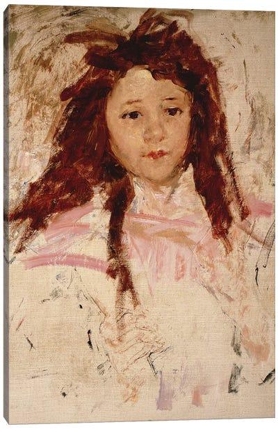 Agnes, 1910 Canvas Art Print