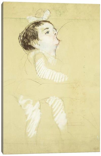 Breastfeeding Infant (Enfant Au Sein), c.1900 Canvas Art Print