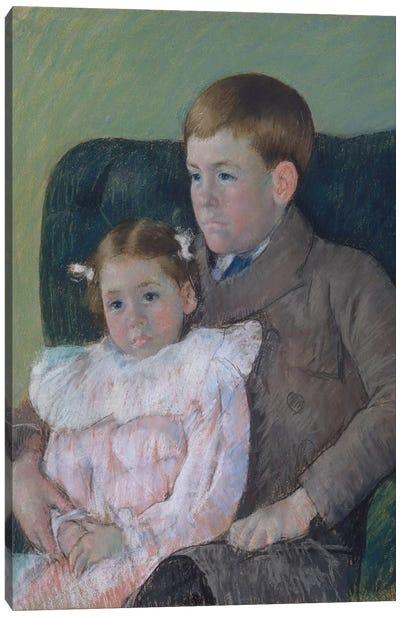 Gardner And Ellen Mary Cassatt, 1899 Canvas Art Print