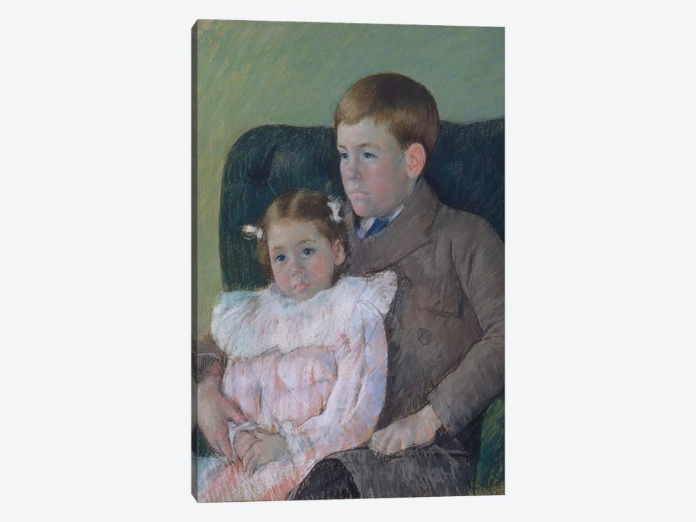 Gardner And Ellen Mary Cassatt, 1899 by Mary Stevenson Cassatt 1-piece Canvas Print