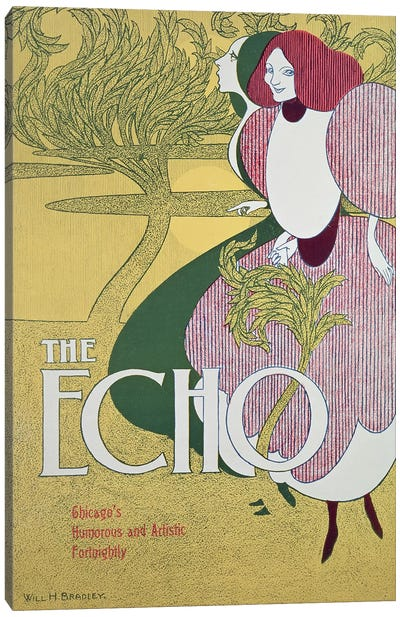 Front cover of 'The Echo'  Canvas Art Print