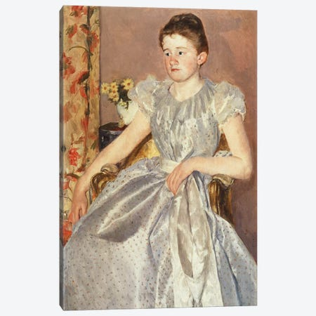 Katharine Kelso Cassatt Canvas Print #BMN8051} by Mary Stevenson Cassatt Canvas Art Print