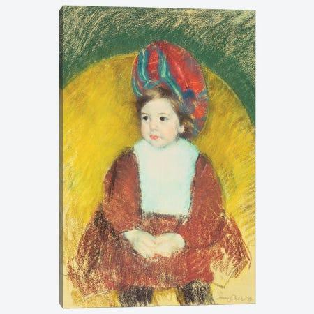 Margot, 19th Century Canvas Print #BMN8061} by Mary Stevenson Cassatt Canvas Wall Art