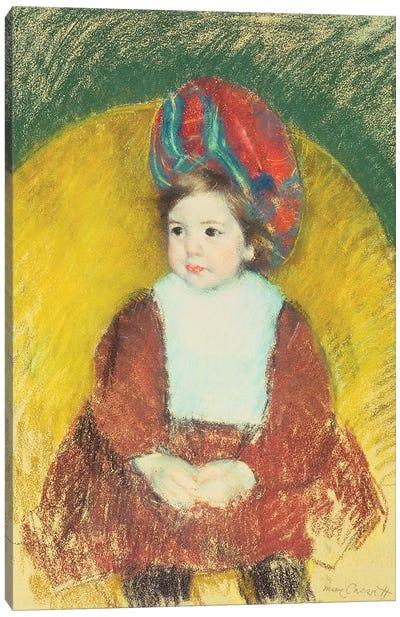 Margot, 19th Century Canvas Art Print