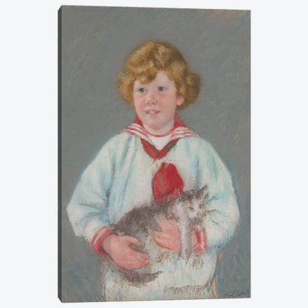 Master Alexander J. Cassatt, Jr., 1914 Canvas Print #BMN8062} by Mary Stevenson Cassatt Canvas Artwork