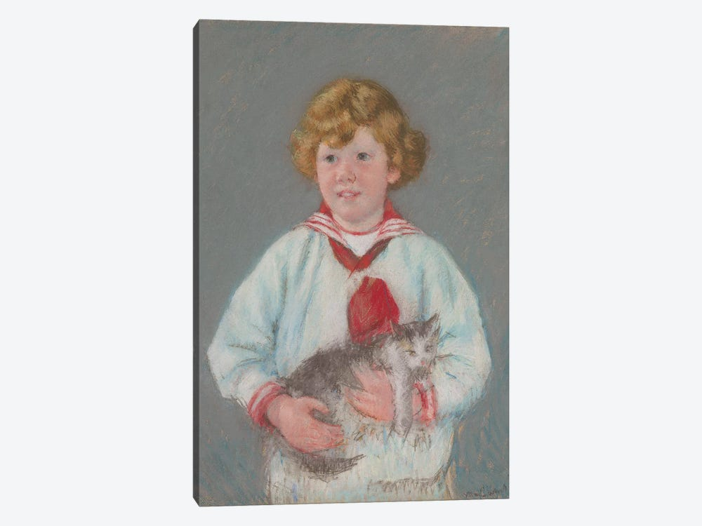 Master Alexander J. Cassatt, Jr., 1914 by Mary Stevenson Cassatt 1-piece Canvas Wall Art