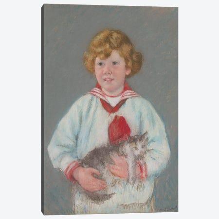 Master Alexander J. Cassatt, Jr., 1914 Canvas Print #BMN8062} by Mary Stevenson Cassatt Canvas Artwork