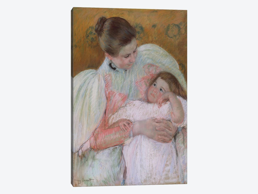 Nurse And Child, 1896-7 1-piece Canvas Artwork