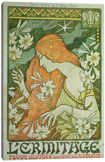 L'Ermitage  Canvas Art Print