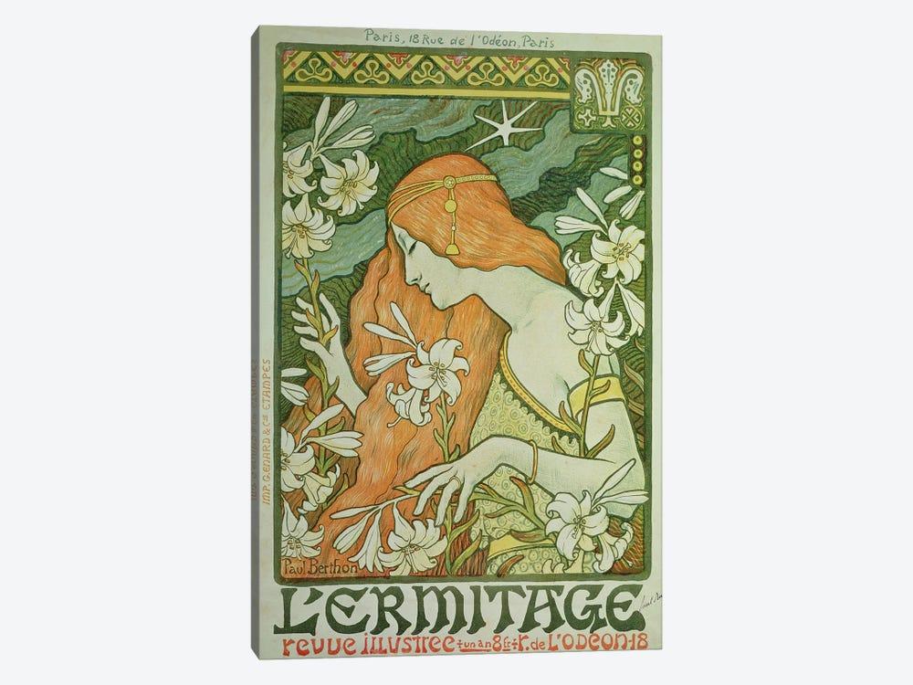 L'Ermitage  by Paul Berthon 1-piece Canvas Art Print
