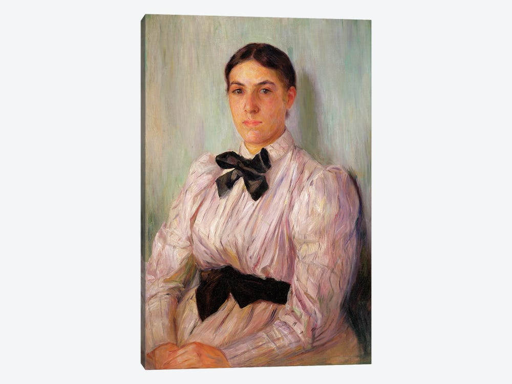 Portrait Of Mrs. William Harrison, c.1890 by Mary Stevenson Cassatt 1-piece Canvas Art Print
