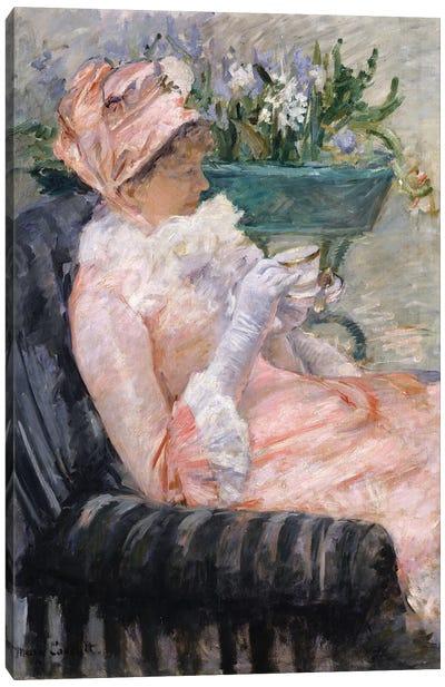 The Cup Of Tea, c.1880-1 Canvas Art Print