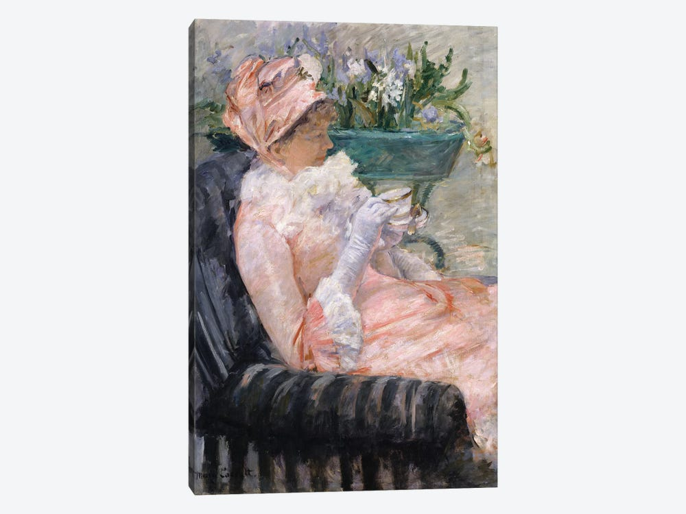 The Cup Of Tea, c.1880-1 1-piece Canvas Print