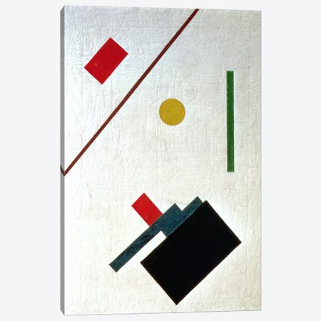Suprematist Composition, 1915 Canvas Print #BMN80} by Kazimir Severinovich Malevich Canvas Wall Art
