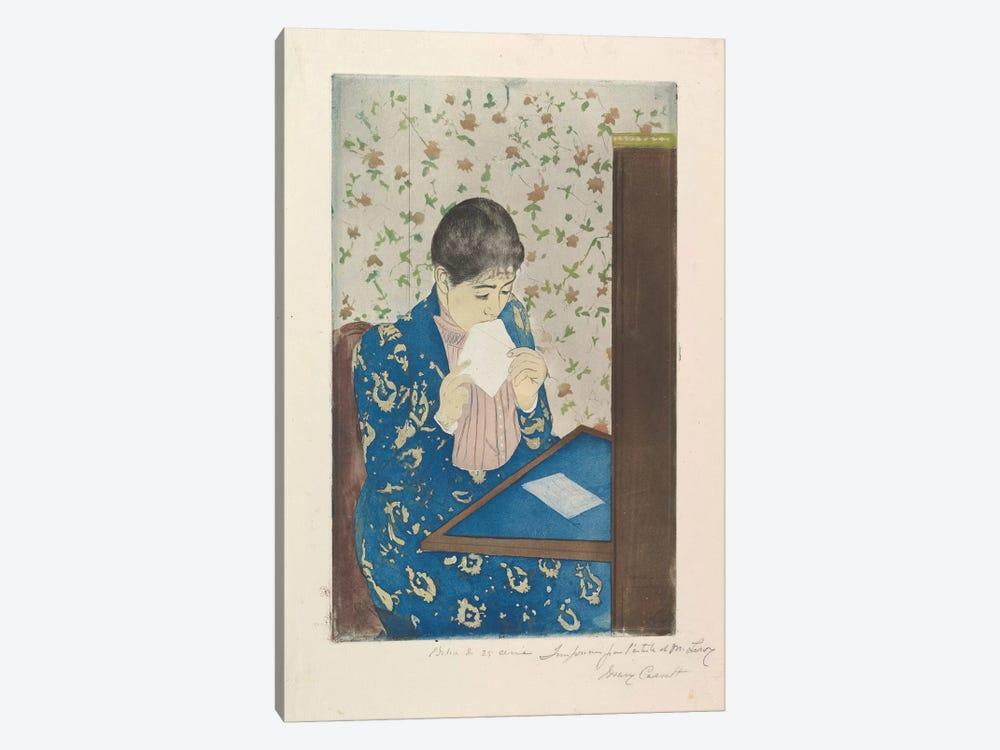 The Letter, 1890–91 by Mary Stevenson Cassatt 1-piece Canvas Art Print