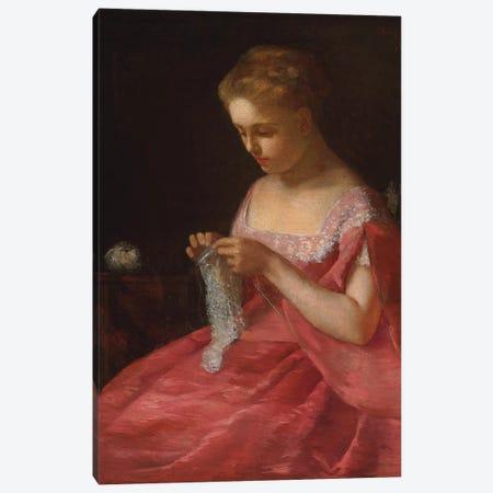 The Young Bride, c.1866-67 Canvas Print #BMN8102} by Mary Stevenson Cassatt Art Print