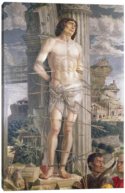 St. Sebastian, 1481  Canvas Art Print