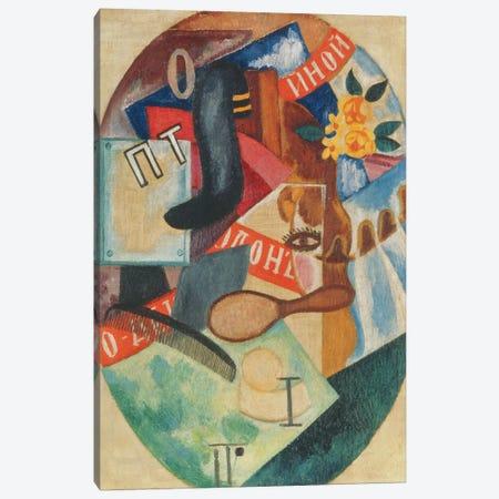 Hairdresser's Shop, 1915 3-Piece Canvas #BMN8111} by Olga Vladimirovna Rozanova Canvas Art