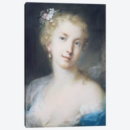 Flora Canvas Print #BMN8116} by Rosalba Giovanna Carriera Canvas Art Print
