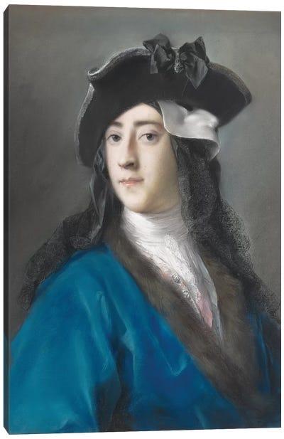 Gustavus Hamilton, Second Viscount Boyne, In Masquerade Costume, 1730-31 Canvas Art Print