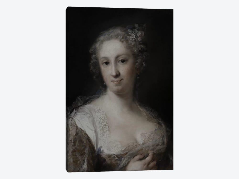 Portrait Of A Lady, c.1730-40 by Rosalba Giovanna Carriera 1-piece Canvas Art Print