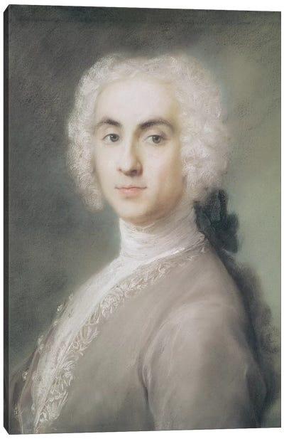 Portrait Of A Man Canvas Art Print